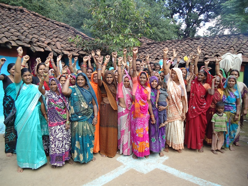 Creating space for women inside Ekta Parishad