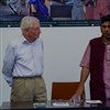 "Rajagopal and Julius Reubke, conference ""From margin to center"", Cologne, credit Martin Bauer"