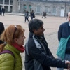 Rajagopal meeting the Mayor with Fran Wilde and Ivan Nutbrown credit AVI / Ekta Parishad